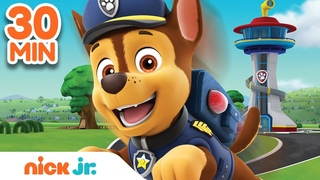 Best of Chase 🐶 PAW Patrol! | 30 Minute Compilation | Nick Jr.