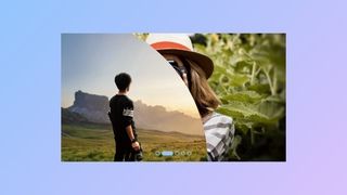 Image Slider with Clip Animation using only HTML & CSS