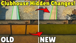 NEW Hidden Changes To Clubhouse or Just Another Bug ? - Rainbow Six Siege