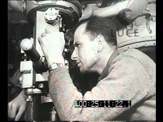 Colpi d'obiettivo a bordo di un sommergibile germanico