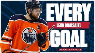 Every Leon Draisaitl Goal From The 2020-21 NHL Season