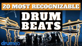 The 20 Most Recognizable Drum Beats