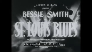 1930s AFRICAN AMERICAN MUSICAL SOUNDIES BESSIE SMITH ST. LOUIS BLUES JAMES P. JOHNSON XD44594
