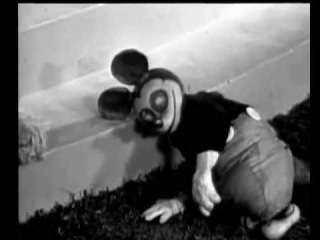 Психоделика 1934 год Микки Маус бьется в конвульсиях оригинал