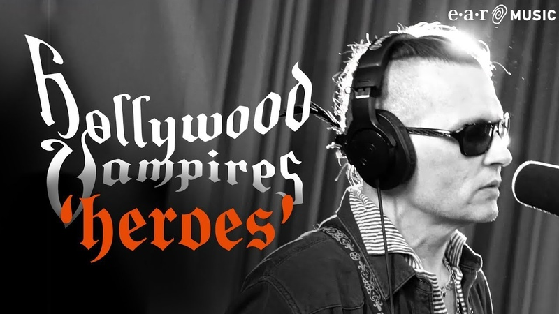 """Hollywood Vampires 'Heroes' from the album Rise"""" OUT NOW"""