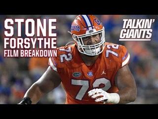 Florida OT Stone Forsythe Film Breakdown