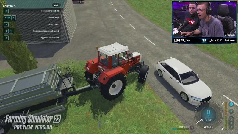 Farming Simulator 22 👨🌾 Prawie 30 min 🎮 gameplay'u z GAMESCOM FS22