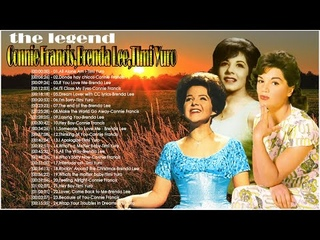 Connie Francis, Brenda Lee ,Timi Yuro  - Mix Greatest Hits 50s60s70s