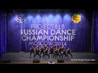 KINGSTEP CREW — RDC14 Project818 Russian Dance Championship, May 1-2, Moscow 2014 —
