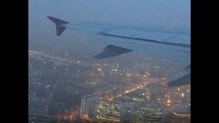 "Takeoff. Pulkovo, views over St. Petersburg. Красивый взлёт ""Спортолёта"". Пулково.Санкт-Петербург."