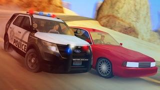 🔥 ПОГОНЯ полиции за ПРОФИ на ВЫСОКОЙ СКОРОСТИ в GTA SAMP!