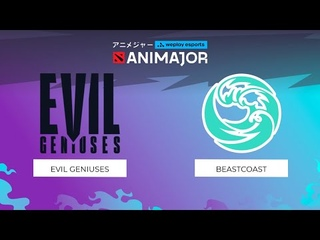Evil Geniuses vs beastcoast - Game 2, Group Stage - weplay esports ANIMAJOR 2021
