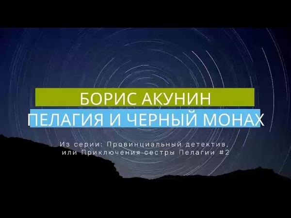 Борис Акунин Пелагия и черный монах Провинциальный детектив или Приключения сестры Пелагии 2