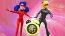 ¡Marinette y Adrien regresan en el tiempo! Ladybug en español. Vídeos para niñas.