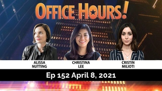 Christina Lee & Alissa Nutting & Cristin Milioti (Made for Love) Office Hours Live (Ep 152 4/8/21)