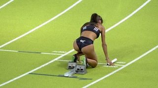 4x100m Mujeres, Final Cto. Madrid Pista 2020 Vallehermoso
