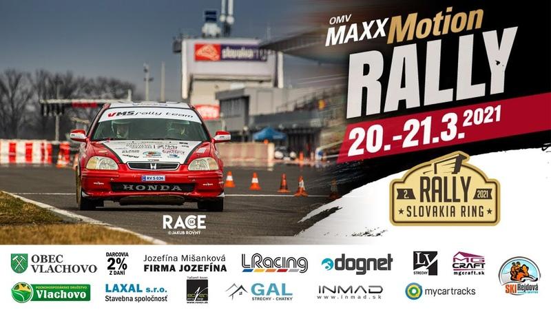 2 OMV MAXXMotion Rally Slovakia Ring VMS Rally Team