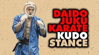 Kudo Daido Juku Karate Fighting Stance