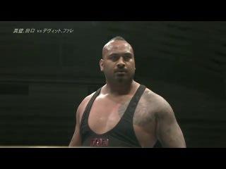 [IWU]Bullet Club (Bad Luck Fale & Prince Devitt) vs.  Ryusuke Taguchi & Togi Makabe