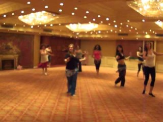 Warm up lesson with Katalin Breban on Nile Group Festival June, 2012