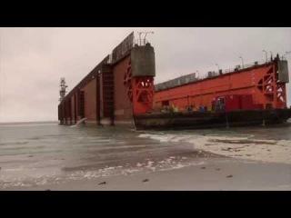 KOOLE - Salvage of 6,000 ton drydock