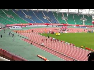 Femi Ogunode  2015 asian championship final