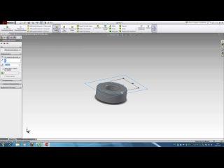 Как создать гайку с резьбой в SolidWorks 2011