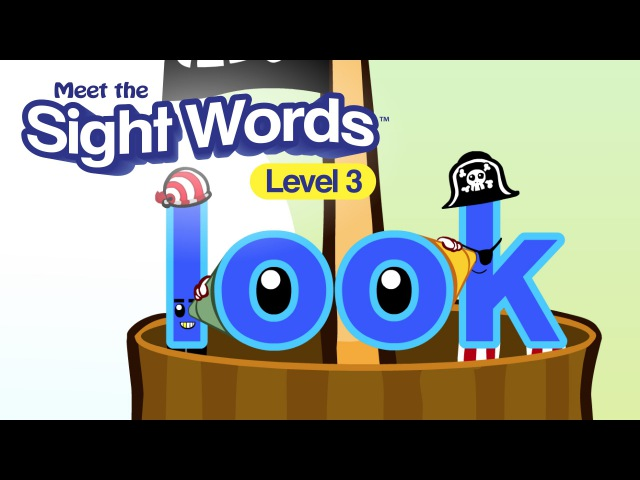 Meet the Sight Words Level 3 look