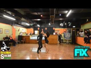 FIX Samba De Gafieira Demo after class David Bosco & Cleo Ramos