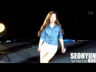 [HD Fancam] 141018 SNSD Seohyun - Can't Take My Eyes Off You (by SeohyunBar)