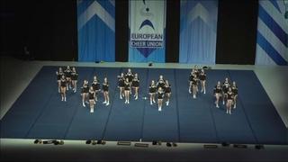 Cheerleading .Junior Cheer All Girl Elite Norway NRC Tigers Junior All Girl Elite