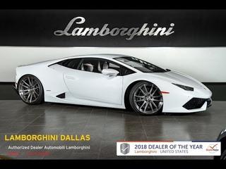 2015 Lamborghini Huracan LP 610-4 Bianco Icarus LC524