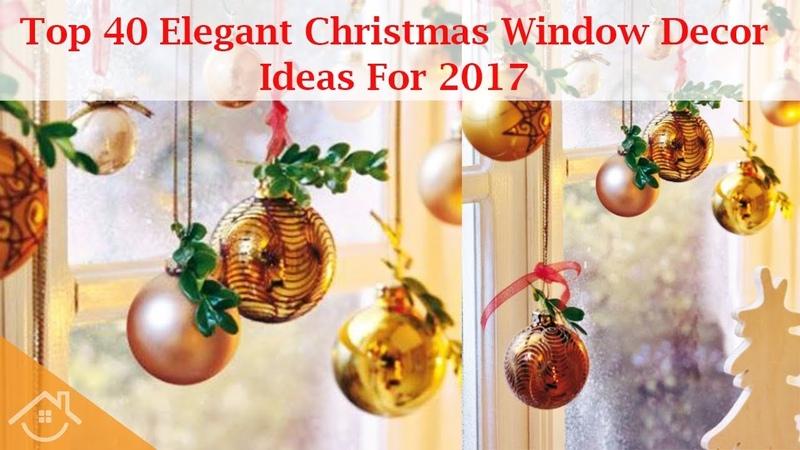Top 40 Elegant Christmas Window Decor Ideas For 2017 Home Interior Ideas