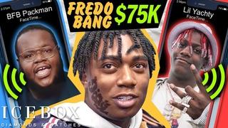 Fredo Bang Negotiates $75K Pendant for BFB Da Packman & Talks to Lil Yachty at Icebox!!