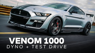 Venom 1000 GT500 by Hennessey // Dyno and Test Drive!
