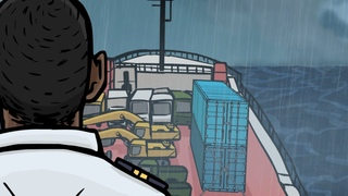Maritime Training: Shifting of RoRo Cargo in Heavy Weather