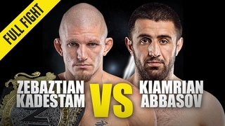 Zebaztian Kadestam vs. Kiamrian Abbasov | ONE Full Fight | October 2019
