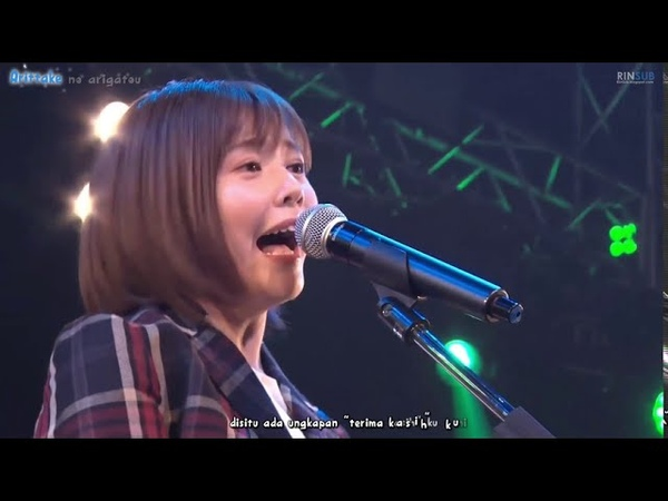 Taketatsu Ayana 竹达彩奈「U&I」K ON Azusa Azu nyan FROM LIVE HOUSE TOUR 2019 sub indonesia