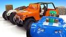Игры с лего Майнкрафт - Гонки и мотоцикл для Стива Майнкрафт - Видео игры для мальчиков
