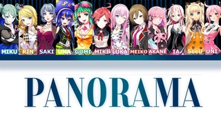 【VOCALOID】IZ*ONE - PANORAMA【COVER】1K SUBS !!!