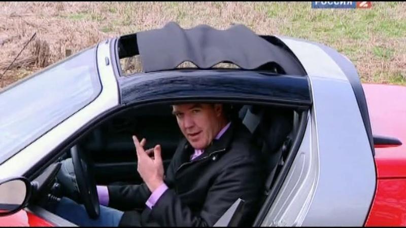 Top Gear Джереми Кларксон Smart roadster