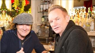 CBGB tour with Sting, Brian Johnson & John Varvatos