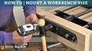 How to Mount a Workbench Vise