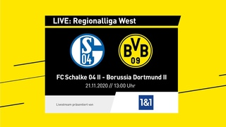 U23 LIVE: Schalke 04 II - Borussia Dortmund II