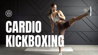 Тренировка кардио-кикбоксинг - Готовьтесь попотеть! Cardio Kickboxing Workout // Get Ready To SWEAT!