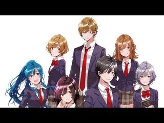 Низкоуровневый персонаж Томодзаки Все Серии 1-12 Серия