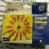 Картридж Epson T0324 (желтый)