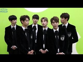 [VIDEO] 170101 HALO Happy New Year 2017 (새해인사)