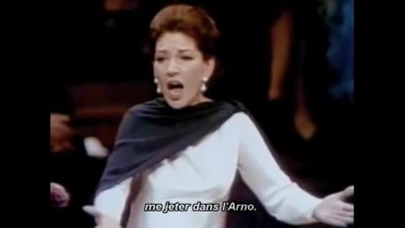 Maria Callas La Diva O Mio Babbino Caro Live