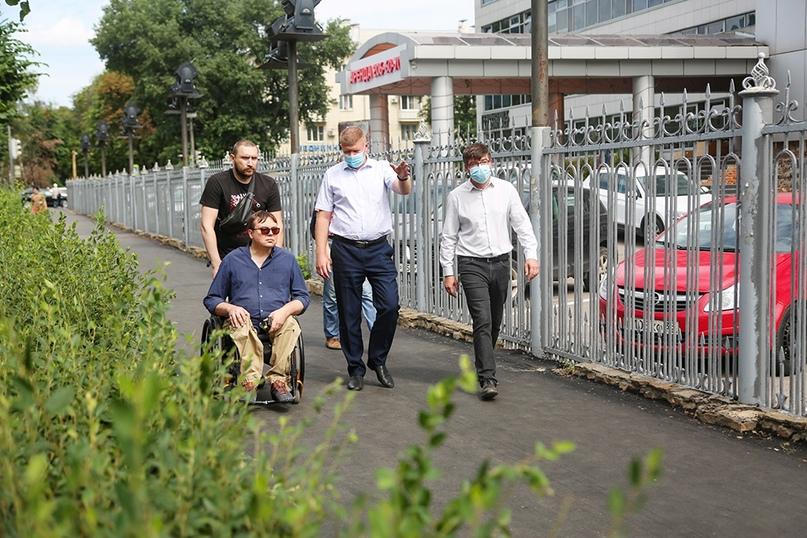 В этом году в Воронеже будет благоустроено более 100 тротуаров